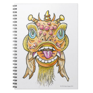 Chinese New Year Mask Notebook