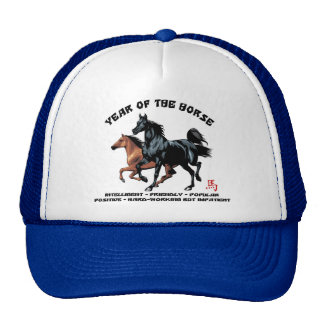 Chinese New Year of The Horse Hats