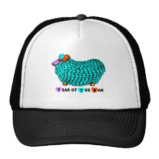 Chinese New Year of the Ram Astrology Sign Hat