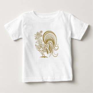 Chinese New Year of the rooster - Baby T-Shirt