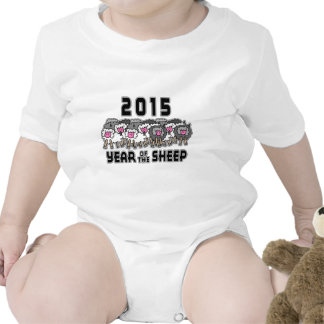 Chinese New Year of The Sheep 2015 Romper