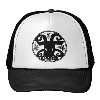 Chinese New Year of The Sheep Mesh Hat