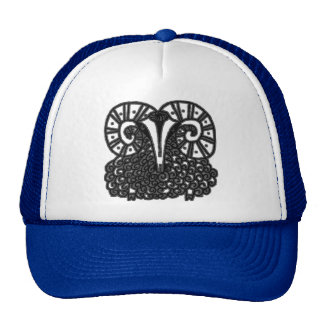 Chinese New Year of The Sheep Mesh Hats