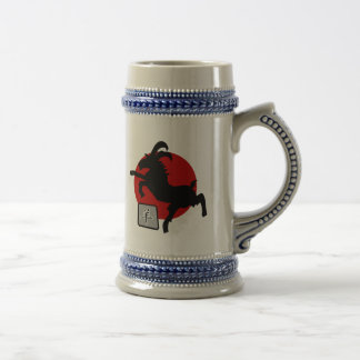 Chinese New Year of The Sheep Ram Goat Symbol Beer Steins