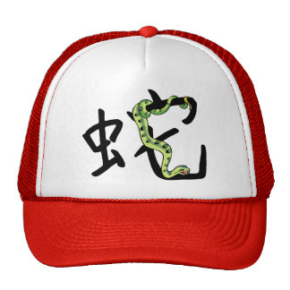 Chinese New Year of The Snake Mesh Hats