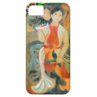 Chinese New Year, oriental people iPhone 5 Cases