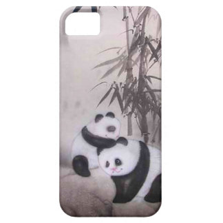 Chinese New Year, Pandas playing Case For The iPhone 5