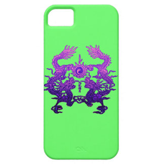 CHINESE NEW YEAR Purple Dragons iPhone 5 Case