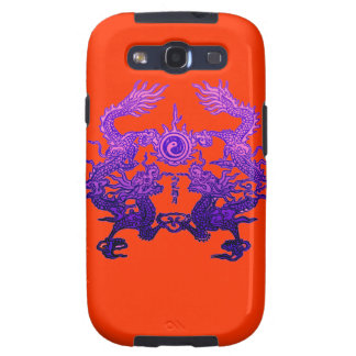 CHINESE NEW YEAR Purple Dragons Samsung Galaxy SIII Covers