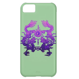 CHINESE NEW YEAR Purple Dragons iPhone 5C Case