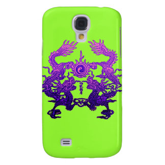 CHINESE NEW YEAR Purple Dragons Galaxy S4 Cover