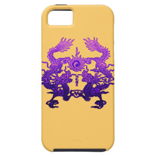 CHINESE NEW YEAR Purple Dragons iPhone 5 Cases