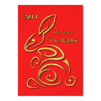 Chinese New Year Rabbit Card