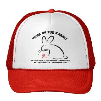 Chinese New Year Rabbit Mesh Hats