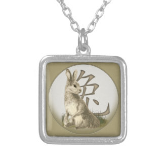 Chinese New Year Rabbit Necklace