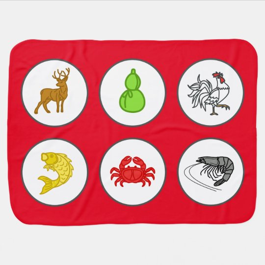 Chinese New Year Red Fish Prawn Crab Game