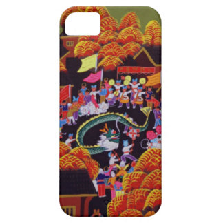 Chinese New Year, village celebration iPhone 5 Cases