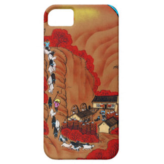 Chinese New Year, VIllage farm Case For The iPhone 5