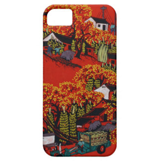 Chinese New Year,Village scene Barely There iPhone 5 Case