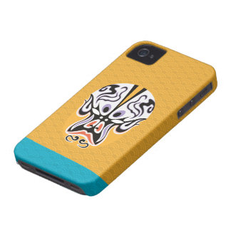Chinese Opera Make Up Iphone4 Case Case-Mate iPhone 4 Cases