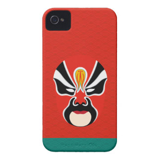 Chinese Opera Make Up Iphone Case 5 (Red) iPhone 4 Covers