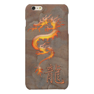 Chinese Orange Glow Dragon iPhone 6 Case iPhone 6 Plus Case
