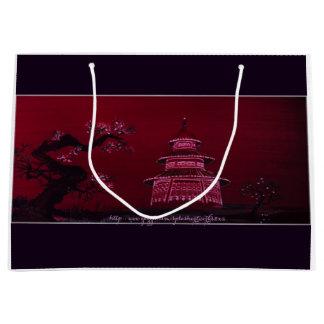 """Chinese Pagota"" Large Gift Bag"