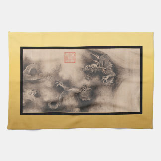 Chinese Painting for Dragon Year 2024 K Towel