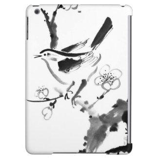 Chinese painting , plum blossom and bird