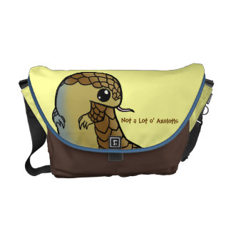 Chinese Pangolin Messenger Bag