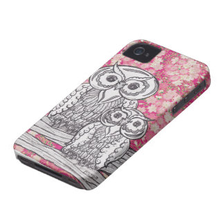 Chinese Paper Owls 4 Case-Mate ID iPhone 4 Case