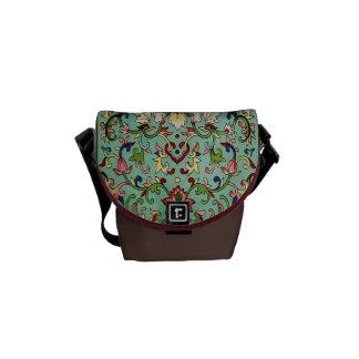 Chinese Pattern Mini Messenger Bag