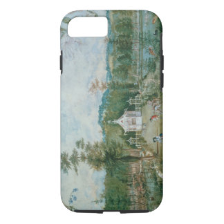 Chinese Pavilion in an English Garden, 18th centur iPhone 8/7 Case
