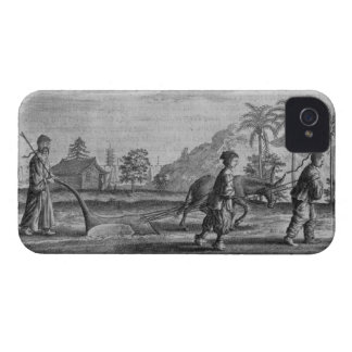 Chinese Peasants, a General Description from an ac iPhone 4 Cases
