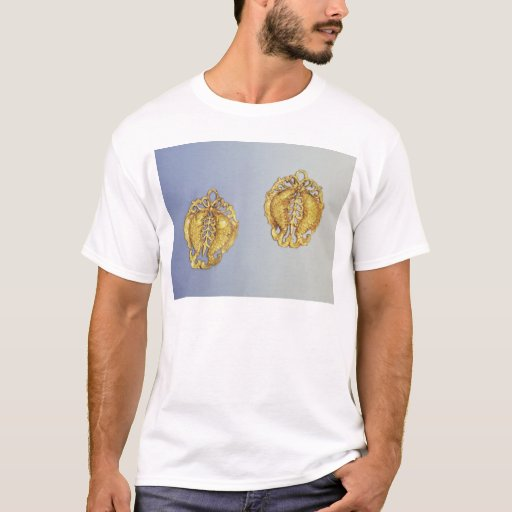Chinese pendants, 17 carat gold plated T-Shirt