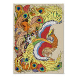 Chinese phoenix poster