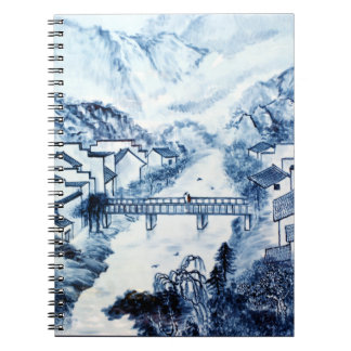 Chinese Porcelain Art #1 Spiral Notebook