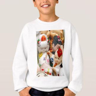 Chinese porcelain dolls sweatshirt