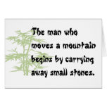 Chinese proverb notecards stationery note card