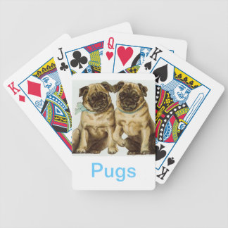 Chinese Pug Dog Playing Cards
