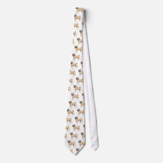Chinese Pug Tie