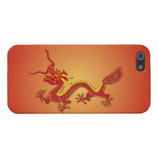 Chinese Red And Gold Dragon New Year iPhone 5/5S iPhone 5/5S Cover