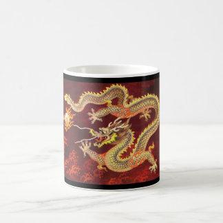 Chinese Red Dragon Mug