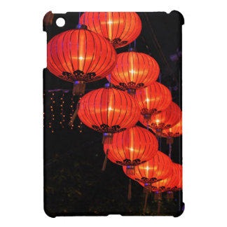 Chinese Red Lanterns iPad Mini Cover