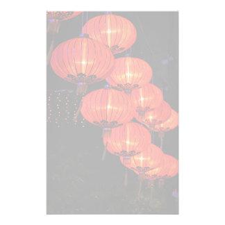 Chinese Red Lanterns Stationery