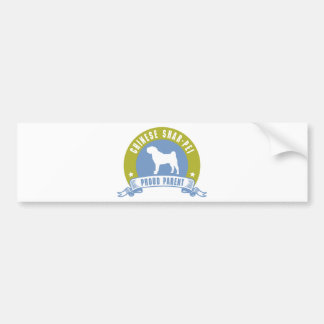 Chinese Shar-Pei Bumper Sticker