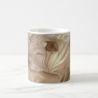 Chinese Shar Pei Camouflaged in Wrinkles Mug