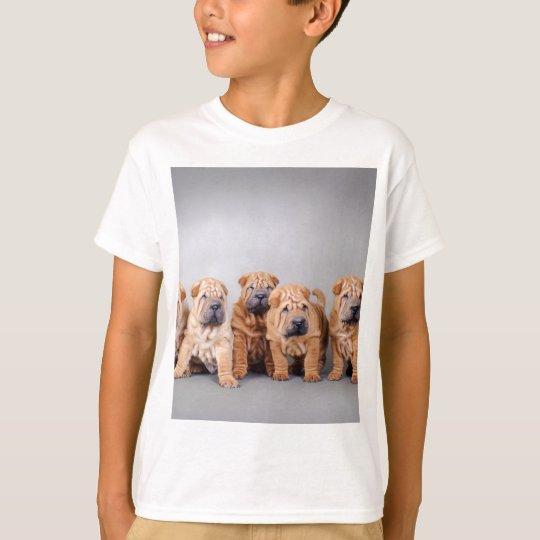 Chinese Shar pei puppies T-Shirt