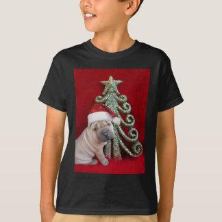 Chinese shar pei puppy tee shirts