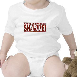 Chinese Shar-Pei Silhouette Tee Shirt